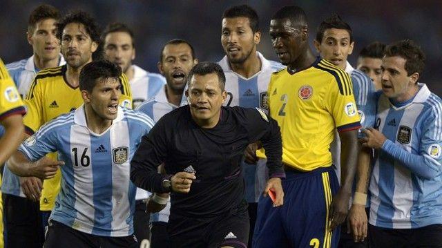 Kolombia vs Argentina
