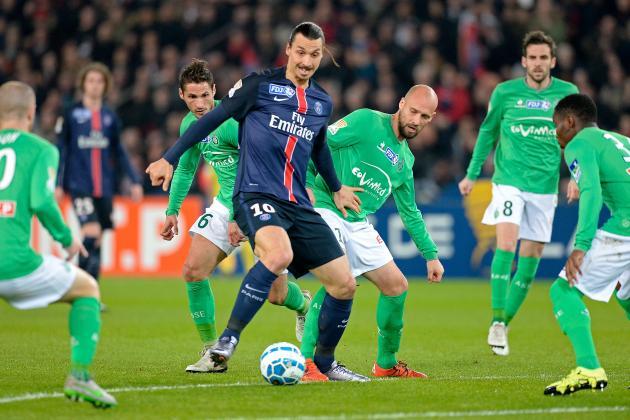 PSG Vs Saint-Étienne