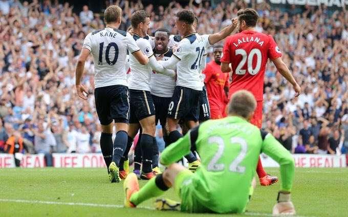 Tottenham Hotspurs Vs Liverpool FC