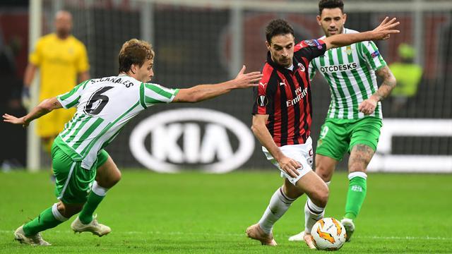 Prediksi Bola Akurat Real Betis Vs AC Milan 09 November 2018